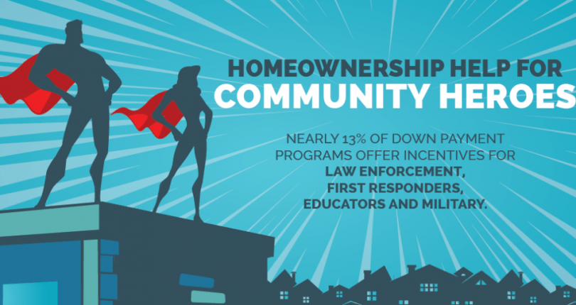Down Payment Help for Our Community Heroes